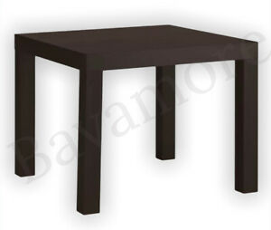 """IKEA LACK Side table, Black-Brown 21 5/8x21 5/8 """" BRAND NEW-"""