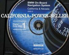 BMW: 3 5 7 Series M3 M5 X5 Z8 Navigation Map # 407 Edition © 2003 CD 1 for CA NV