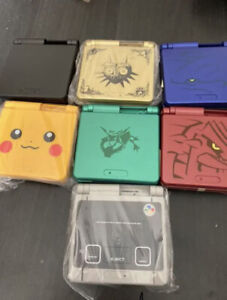 Nintendo Game Boy Advance SP Custom Console GBA Japanese only