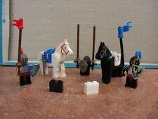 Lego Castle – 6021 Jousting Knights – Complete – Vintage Set – 1984