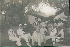 Tunisie, Tunis, Armée Française, Kermesse Serbe, Officiers, Infirmière, Costumes