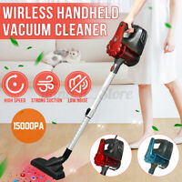 2 in1 Cordless Handheld Vacuum Cleaner Carpet Dust Suction Collector Home