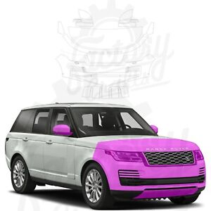 Paint Protection Film Clear PPF for Land Rover Range Rover 12-20 Half Front Kit