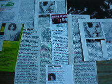 BILLY SQUIER - CUTTINGS/CLIPPINGS COLLECTION (REF E8)