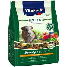 Vitakraft Emotion Beauty Adulto, Cobaya - 1,5 Kg - Comida Alimento Especial