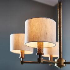 Plafonniers et lustres modernes marrons en tissu pour la maison