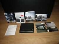 2011 BMW 5 Series owners manual set with cover case
