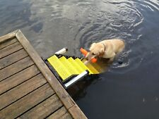 Wag Dog Boarding Steps Model Dm-12 for Fixed Docks (vs. Ladders/Ramps/Platforms)