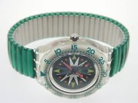 Scuba 200 Swatch The Originals SDK108 Mint Drops 1993 Spring Summer Collection