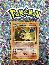 ⭐️ Error Charizard 2Ed Holo Base 1st gen WotC Pokemon Card no Shadowless 7 8 ?🎏