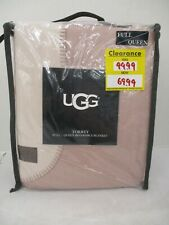 Ugg Torrey Full/Queen Reversible Blanket Dusk/Blush - Bamboo & Polyester Sss 300