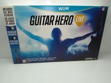 ۞ Guitar Hero Live Wii U Seminuevo ۞Envío Combinado 24H۞