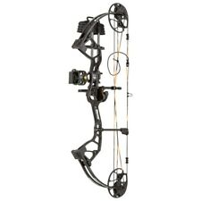 NEW BEAR ARCHERY ROYALE RTH READY TO HUNT PACKAGE, RIGHTHAND, SHADOW BLACK