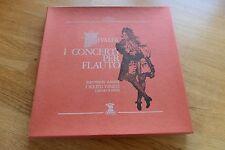 VIVALDI I Concerti Per Flauto RAMPAL SCIMONE 3LP box Erato 70303/4/5