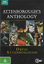 ATTENBOROUGH'S ANTHOLOGY Brand New but UNSEALED 3-DVD Set Region 4