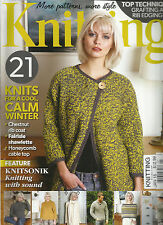 KNITTING MAGAZINE, JANUARY, 2015 ( MORE PATTERNS, MORE STYLE ) 21 KNITS FOR A