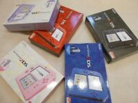Nintendo 2DS Complete accessories Various colors Used JAPAN