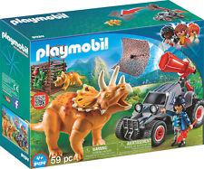 Playmobil 9434 The Explorer Offroader mit Dino-Fangnetz NEU OVP