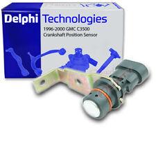 Delphi Crankshaft Position Sensor for 1996-2000 GMC C3500 5.7L V8 - Engine sr