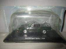 FIAT 850 SPORT SPIDER 1968 HACHETTE SCALA 1:43