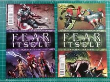 Fear Itself #6 & 7 (2007) Marvel Comics Captain America Wields Mjolnir! FN+