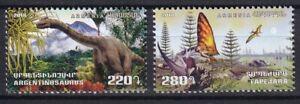 Armenia 2018 Dinosaurs 2 MNH stamps