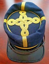 Civil War Confederate Csa General Officer Wool Kepi Hat,Size-Xl.