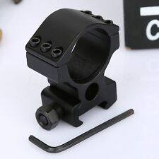 Hunting 30mm Ring Weaver High Duty 20mm Rifle Laser Scope 6 Bolts Rail Mount