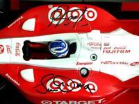 Dixon's #9 2005 Oval Indy Car - Dual Personal Autographs BOTH Dario F. & Scott