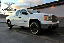 07-13 GMC Sierra 1500 Chrome Arch Wheel Molding Fender Flare SS
