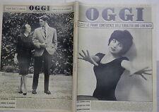 OGGI 22 ottobre 1961 Mina Ruffini Walter Chiari Soraya Fellini Farah Diba Lualdi