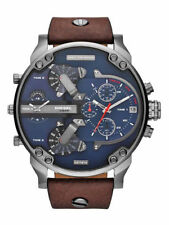 Diesel Mr. Daddy 2.0 Dz7314 Herrenuhr - Blau/Braun