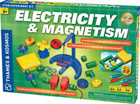 Thames & Kosmos Electricity & Magnetism Science Kit, 62 Experiments