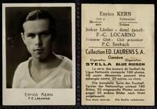 (Gc209-348) RARE, Swiss Photo Sport, Enrico Kern, F.C. Locarno G-VG