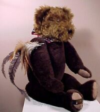 Gund Canterbury Brown Bear Signed #146/300 w/Box 1993