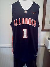 Illinois Fighting Illini DJ Richardson Nike Elite Dri-Fit Jersey XL NWT NCAA