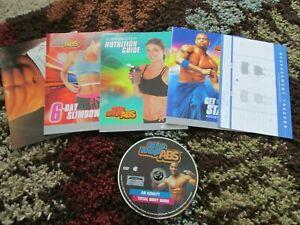 Beachbody Shaun T's Hip Hop ABS  AB Sculpting System DVD w/ Booklets