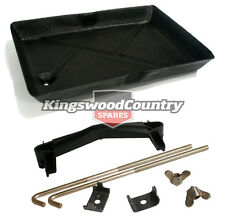 Holden Torana Battery Tray +Holder Hold Down Kit LH LX UC clamp