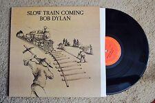 Bob Dylan Slow Train Coming Folk Rock Record lp NM