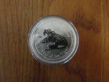 2010 Lunar II Tiger 1oz Silver Bullion Coin - BUNC