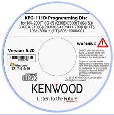 Kenwood KPG-111D Version 5.2 Field Programming Unit (Software)