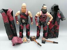 WWE Mattel Elite Figures Harper Rowan Bludgeon Brothers