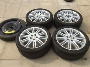 Jaguar Set Of S Type Alloy Wheels With Spare