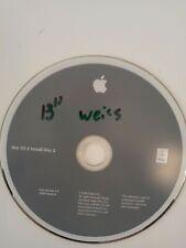 MacBook Mac OS X Installations DVD Version 10.5.4 + AHT version 3A152 aus 2008