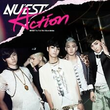 NU'EST - [ACTION] 1st Mini Album CD + Photo Booklet K-POP Sealed NUEST