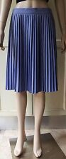 American Apparel Pleated Skirt Lilac Size-Large Wear to Work
