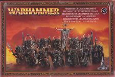 GAMES WORKSHOP CITADEL 83-06 - WARHAMMER WARRIOR OF CHAOS REGIMENT