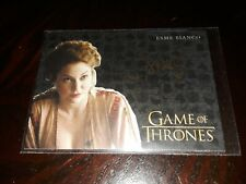 2019 Game of Thrones Inflexions Esme Bianco as Ros GOLD Autograph Auto