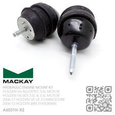 MACKAY HYDRAULIC ENGINE MOUNT SET V6 ALLOYTEC 3.6L [HOLDEN WM STATESMAN/CAPRICE]