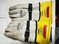 New Listing*Lineman Secondary Gloves, Sz 9*Glove Bag Included*